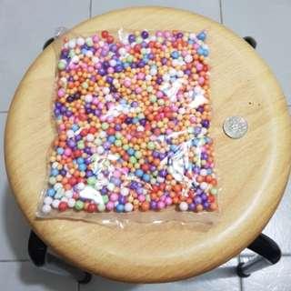 Foam balls slime foam fillers