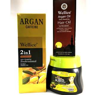 Complete Argan Package for Healthy Hair