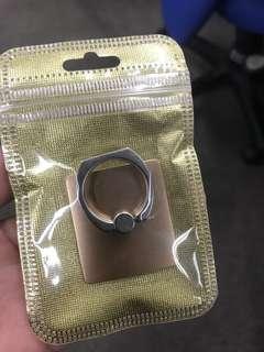 全新金色手機指環