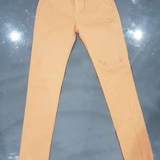 Ziggy Size8 Stretch Peach Denim