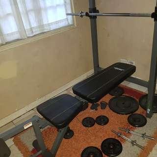 Bench Press Gym Set