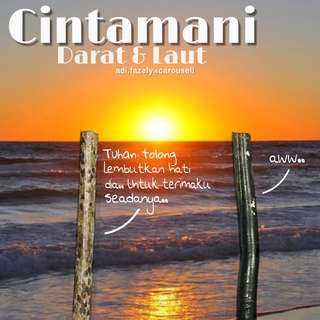 (Available now) ✌🏽😘😜 Kayu Cintamani Darat & Laut