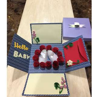Baby Shower Red Packet in a Box