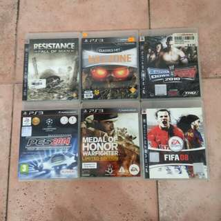 PS3 Games (look in description for how much it cos)