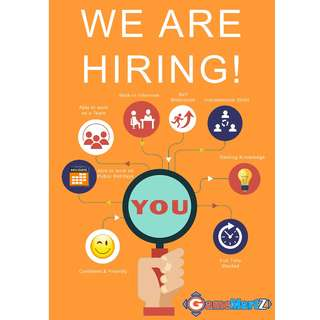 We are Hiring - Sales Assistants or Executives