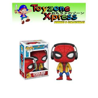 Spider-Man: Homecoming Spider-Man with Headphones Pop! Vinyl Bobble Head (#265)