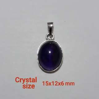 Natural Amethyst pendant(天然紫水晶吊坠)。