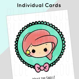 Disney Inspired Princess Card (Hand Drawn) - 13 designs to choose from!