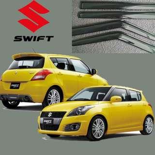 SUZUKI SWIFT 2013 DOOR VISOR