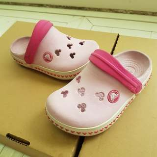 crocs米奇兒童布希鞋(8 C 9)