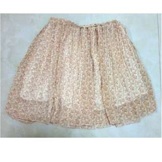 Rok Cute Mini Skirt kawaii cream