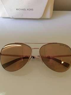 Authentic Michael Kors Rose Gold Sunglasses