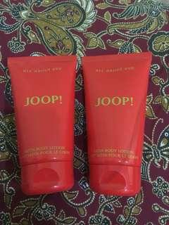 JUAL MURAH!! Body lotion satin eve JOOP! Paris 2 botol 80.000