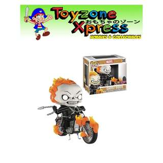 Marvel Classic Ghost Rider with Bike Pop! Vinyl Figure - Previews Exclusive (#33)