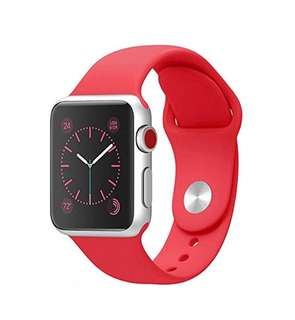 42mm Genuine red strap for apple watch, very gd quality.