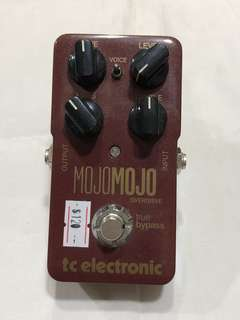TC Electronic Mojo Mojo Overdrive Guitar Effects Pedal