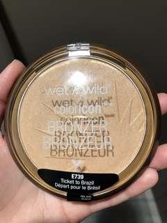 Wet n wild coloricon bronzer ticket to brazil
