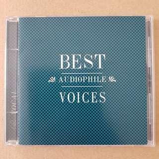 CD Best Audiophile Voices Vol.1(blue colour)