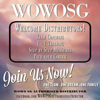 Welcome distributor