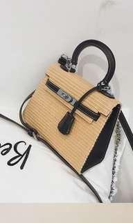 korean kelly style sling handbag
