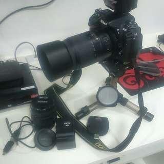 Nikon D300 package