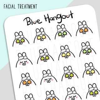 TAB Facial Treatment (Hand Drawn)