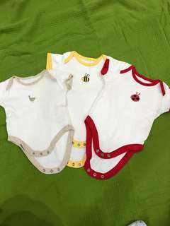 Mothercare rompers set