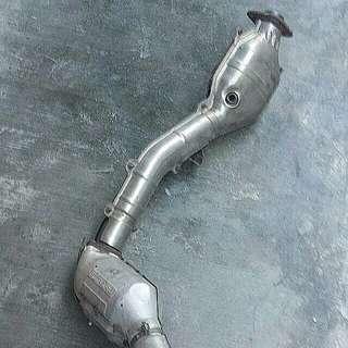 Subaru WRX Downpipe & Mid Pipe Set