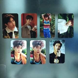 SALE! EXO ON HAND UNOFFICIAL PHOTO CARDS