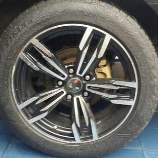 Rim 17 with tyre