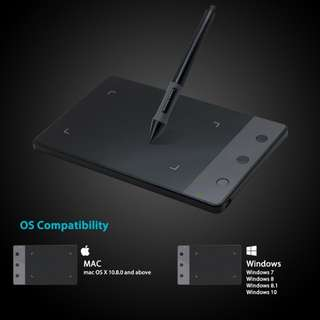 Brand New Huion H420 Tablet Graphics Drawing Signature Pad with 3 Express Keys (4-by-2.23 Inches)