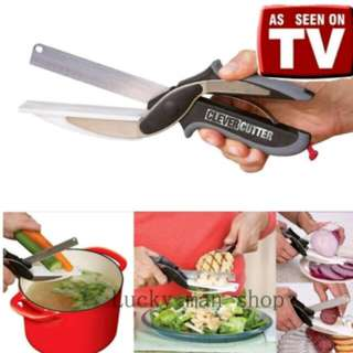 Clover Cutter 2in1 Food Choppe/Chopping Board