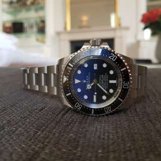 Fs:lnib Rolex Deepsea Sea Dweller  blue James Cameron edition