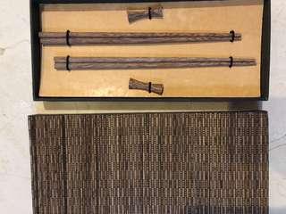 Sumpit kayu set