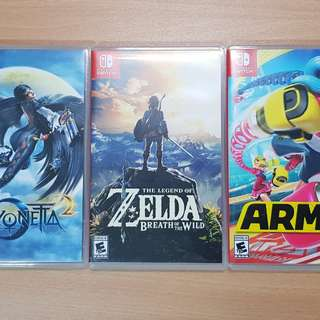 Nintendo Switch Games Rental