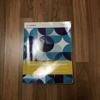 CENGAGE Business Software Applications Textbook