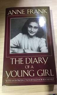 The diary of a Young Girl (Anne Frank) - Original Imported Book