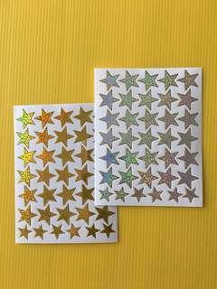 Stars Sticker Shinny
