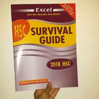 Excel HSC Survival Guide 2018