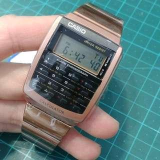 Casio 懷舊計數機錶