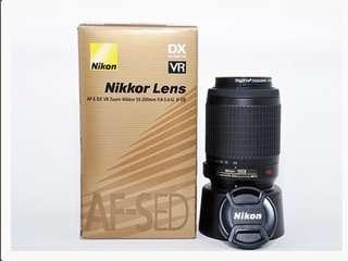 Nikon Nikkor AF-S DX VR Zoom 55-200mm Lens