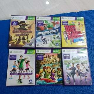 Xbox 360 Games (Kinect)