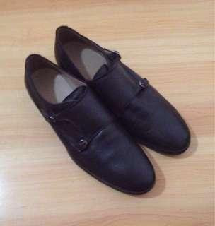 Zara Man Double Monkstrap Shoes