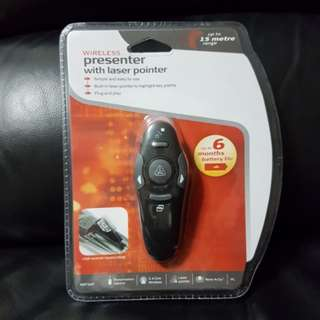 Brand New Wireless Presenter with Laser Pointer