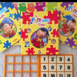Noddy Fun Books used by Shichida