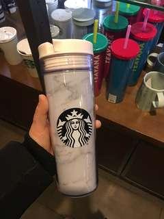 限量版韓國雲石Starbucks Tumbler 杯