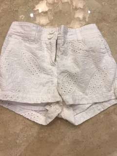 Country road shorts for girl