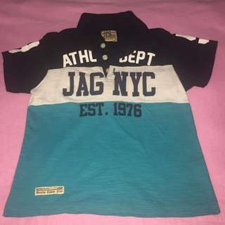 Jag Polo Shirt for 5-7 yrs old