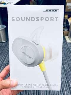 BOSE Soundsport Wireless (Criton)Bluetooth earphone IEM 藍牙無線耳機 not Free Sony B&O