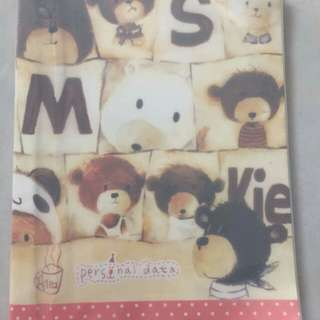 Cute Cartoon Diary Book